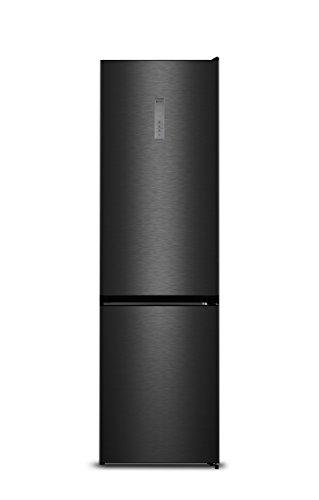 Hisense RB438N4BF3 Libera installazione 334L A+++ Nero, Acciaio inossidabile frigorifero con...