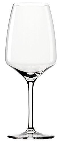 Bicchieri da vino rosso Bordeaux Stölzle Lausitz della serie Experience 645ml, set da sei, resistenti ai lavaggi in lavastoviglie, stelo allungato