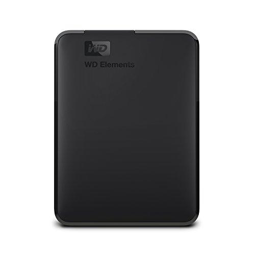 WD Elements - Disco duro externo portátil de 4 TB con USB 3.0, color negro