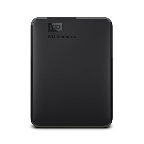 Western Digital Elements Portable Hard Disk Esterno Portatile, USB 3.0, 4 TB