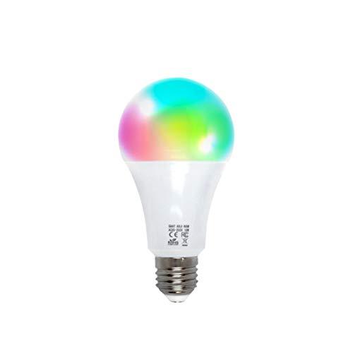 Lampadina WiFi Smart by EMC Italy | Multicolore + Bianco Caldo e Freddo | Lampadina Intelligente a...