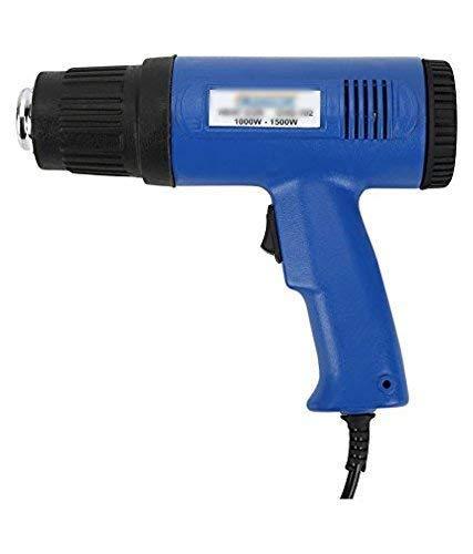 SCHOFIC 1500-Watt, 220V Dual Temperature Control Heat Gun with 50-400/550 C (Blue)