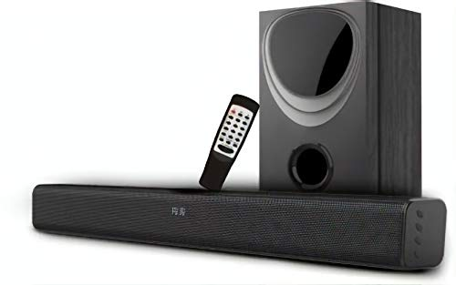 INSTAPLAY Insta Storm 4.1 Channel Wireless Bluetooth SOUNDBAR with External Subwoofer (Black)