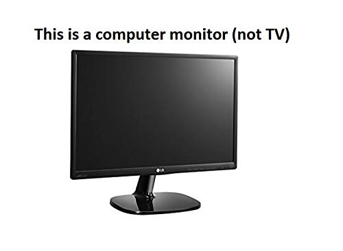 LG 20 inch (49cm) HD Ready, IPS Panel Monitor with VGA, HDMI Ports - 20MP48HB