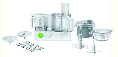 Braun FX 3030 Robot da Cucina, 800 W, 35 Decibel, Bianco