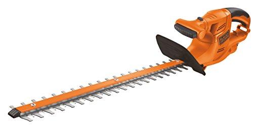 Black+Decker GT4550-QS Cortasetos (450 W) con Longitud de Espada 50 cm y 18 mm de separación Entre Dientes