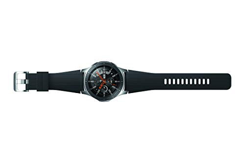 Samsung SM-R800 Galaxy Montre, 46 mm Argent- Import 10