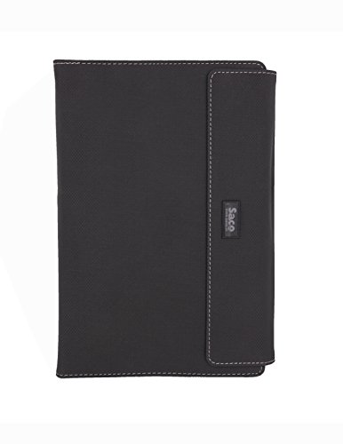 "Saco Tablet Flip Case for 9.6"" Fusion5 4G Tablet PC -(Black)"