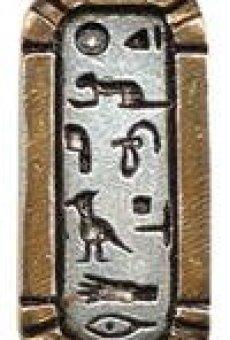 CartouchedeamordeCleopatraparafelizamory amistad–collaramuleto – Joyas de Atum-Ra – colección del antiguo Egipto