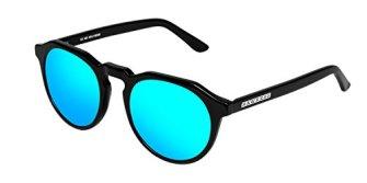 HAWKERS--WARWICK-X--Diamond-Black--Clear-Blue--Gafas-de-sol-para-hombre-y-mujer