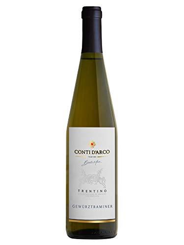 GEWÜRZTRAMINER Trentino DOC - Conti d'Arco - Vino bianco fermo 2017 - Bottiglia 750 ml