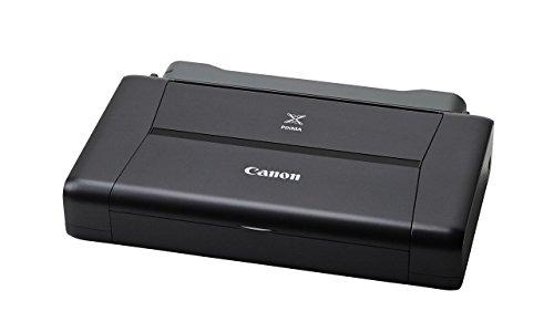 Canon Pixma iP110 Stampante Fotografica Inkjet con Batteria, 9600 x 2400 dpi, Nero