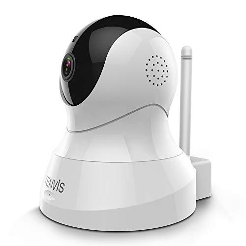 Videocamera Sorveglianza 1080P - Videocamera IP Camera WiFi con Audio Bidirezionale, Telecamera...