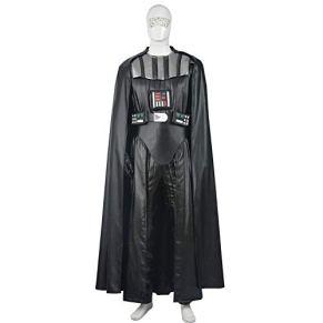 QWEASZER Star Wars The Black Darth Vader Cosplay Disfraz Adulto Halloween Cosplay Disfraces Movie Props Edición Deluxe…