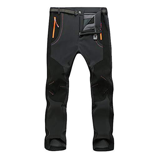 Primavera 2019 Pantalones Hombre montaña Chandal Pareja de Hombres A Prueba de Viento a Prueba de Viento Senderismo al Aire Libre Invierno cálido Pantalones Gruesos