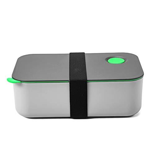 COMLIFE Lunch Box 1000ml, Scatole Bento con 2 Scomparti, Pranzo Bento Senza BPA, Adatto per...