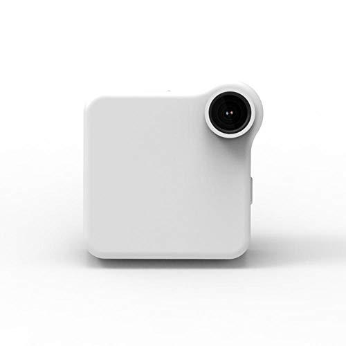 Elerose Mini videocamera HD 720P a infrarossi Night Vision Nanny Cam Action Camera Sport Camcorder 140 Gradi Angle View con Kit Accessori(bianco/32G)