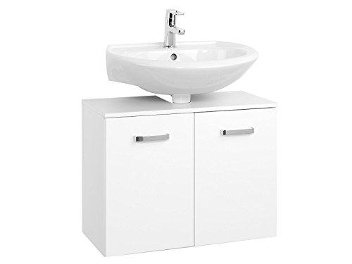 Waschbeckenunterschrank Unterbeckenschrank Badmöbel Bad Badezimmer 'Bologna III' (70 cm)