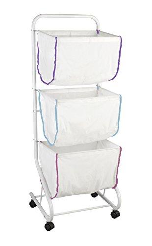 Wenko Escala Wäschesammler 3 Fächer