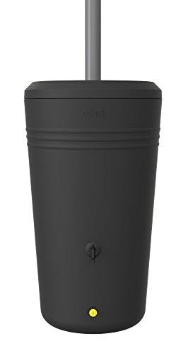 Elho Green Basics Regentonne - Regentonne - Lebhaft Schwarz - Draußen  - 200 Liter