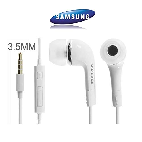 Samsung Originale Bianco EHS64AVFWE Auricolari/Cuffie/Vivavoce Kit/Cuffie Stereo 3.5mm Microfono...