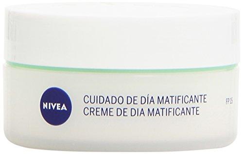 NIVEA - Crema para cara y rostro, cuidado de día matificante SPF 15, piel mixta y grasa, 50 ml
