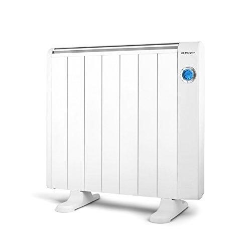 Orbegozo RRE 1310 – Emisor térmico bajo consumo, 1300 W de potencia, 7 elementos, pantalla digital LCD, mando a distancia y funcionamiento programable