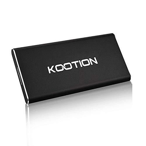 KOOTION Hard Disk Esterno 60GB Disco Rigido SSD USB 3.0 Portatile, Alta Velocità di Lettura e...