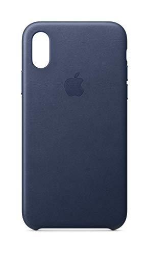 Apple Coque en Cuir (pour iPhoneXS) - Bleu Nuit 22