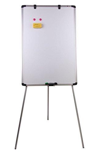 VIZ-PRO - Treppiede leggero magnetico, per lavagna magnetica bianca e lavagna a fogli mobili 70 x...