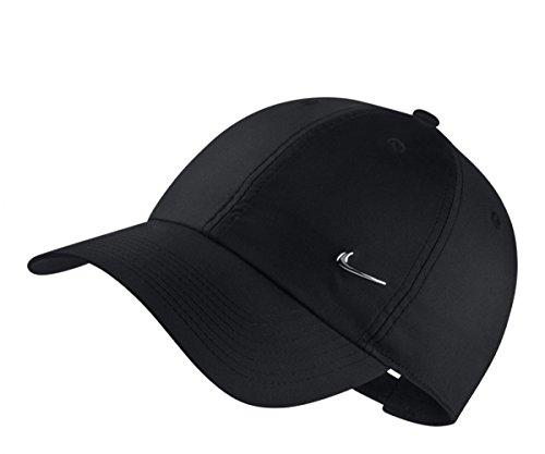 Nike U Nk H86 Cap Metal Swoosh Hat, Unisex Adulto, Black/Metallic Silver, MISC