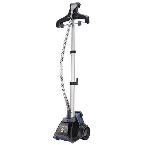 Rowenta Compact Valet - Centro de planchado vertical, fácil de transportar y con ruedas, cepillo para tejidos y quitapelusas