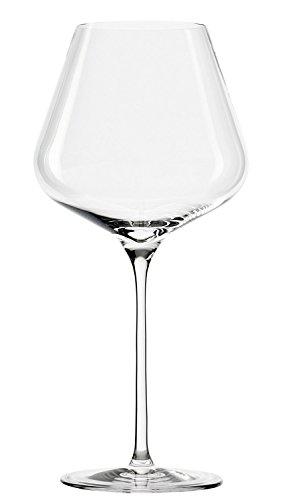 Stölzle Lausitz Bicchieri di Vino Rosso di Bordeaux Quatrophil, 708ml, Set da 6, calici voluptuosas, Vetro Soffiato, Adatte per la lavastoviglie