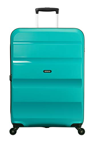 American Tourister Bon Air Spinner Suitcase, 75 cm, 91 L, Turquoise (Deep Turquoise)