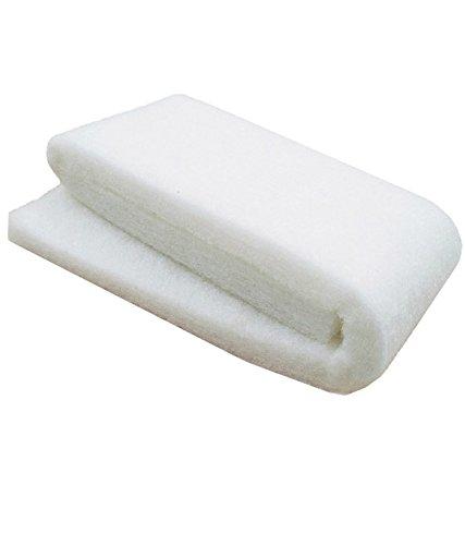 COLOURFUL AQUARIUM Aquarium White Sponge for Top Filters   3 feet Length