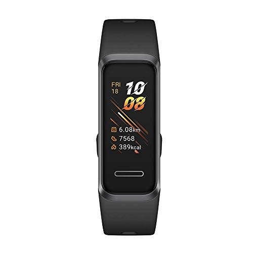 HUAWEI Band 4 Fitness Tracker con schermo TFT a colori da 0,96' Monitoraggio continuo 24/7 con...