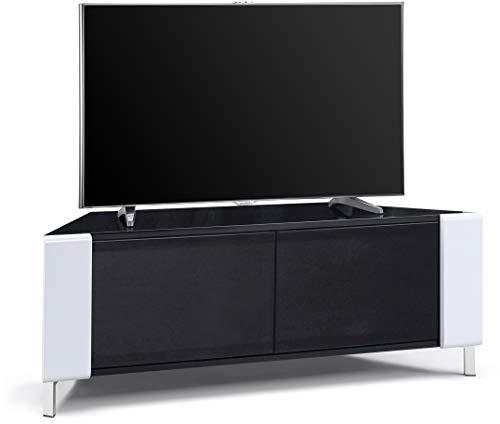 MDA Designs CORVUS - Mobile moderno con ante in vetro BeamThru, adatto per TV a schermo piatto fino...