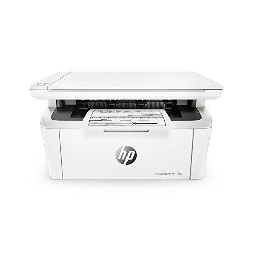 HP LaserJet Pro M28a Stampante Multifunzione, fino a 18 ppm, Bianco e Nero, Copia, Scansione,...