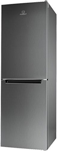 Indesit LI70 FF1 X Libera installazione 270L A+ Acciaio inossidabile frigorifero con congelatore