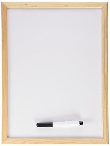 Makro Paper PM601 - Lavagna magnetica, con cornice in legno, 30 x 40 cm