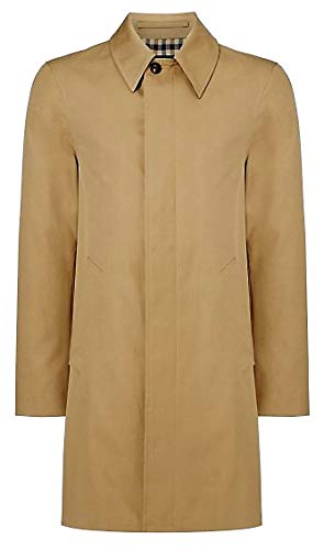Aquascutum Giubbotto London Slim Broadgate Giacca Trench Beige Uomo Man Jacket (L)