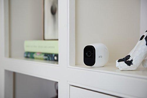 31fEYsGIISL [Bon Plan Smarthome!]  Netgear -  VMS4330-100EUS - Arlo Pro - Pack de 3 Caméras, Smart caméra HD 720p, grand angle 100% Sans Fils - avec b...