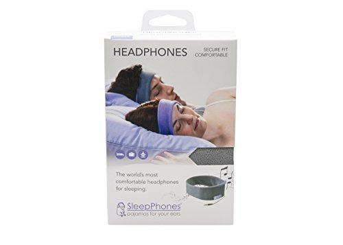 AcousticSheep souple, FIN sleepp Smartphones Classic Breeze Polyester-Bandeau avec écouteurs intégrés pour Smartphone et Tablette 28