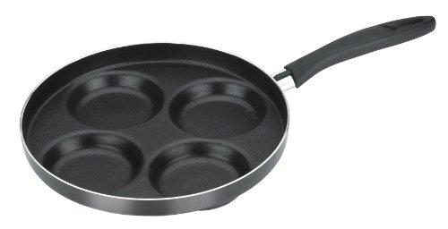 Tescoma 594244 Presto Padella con 4 Cerchi per pancake, Diametro 24 cm
