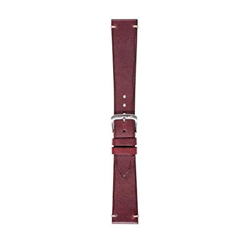 Morellato Cinturino unisex, Collezione MANUFATTI, mod. Vintage, in vera pelle di vitello - effetto vintage - A01X5278C92