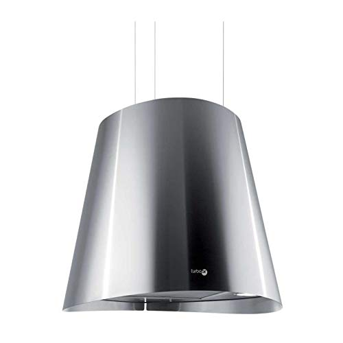 TURBOAIR GIOIA IX/F/50 Cappa Cucina Isola Sospesa Filtrante Tonda Diametro 50 cm