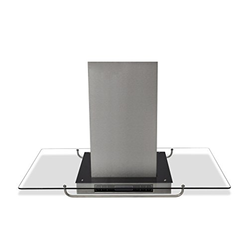 vidaXL 50167 - Cappa da cucina ad isola con display LCD, 750m³/h, 180 W
