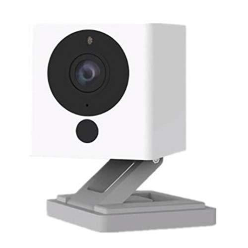 shizhongminghe-IT Smart Camera 1s Fotografia Time-Lapse HD Telecamera di sorveglianza Famiglia Domestica Telecamera per Visione Notturna Bianca