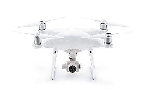 DJI Phantom 4 Advanced - Drohne mit Videoübertragungsreichweite von 7 km, Videos bei 60 fps oder H.265 4K Videos bei 30 fps, beides mit einer Rate von 100 Mbit/s. - Weiß