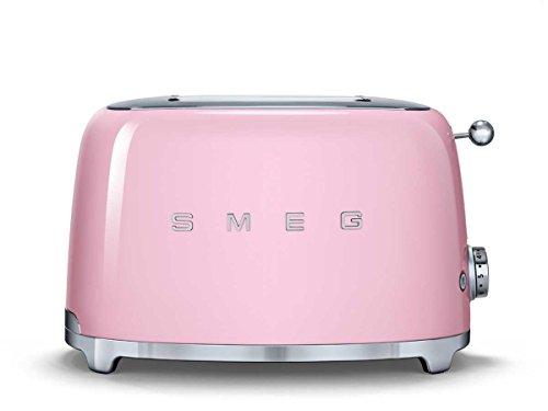 Smeg tsf01pkeu tostapane da 2fette, Cadillac rosa di elettrodomestici da cucina Nostalgia